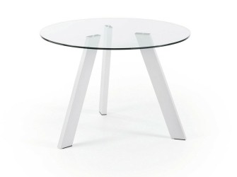 [Webshop] LaForma Eettafel Carib, kleur wit in 2 maten