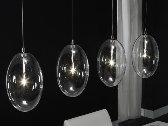 [Webshop] Hanglamp Joelle, 4 Lamps - Gratis bezorging!