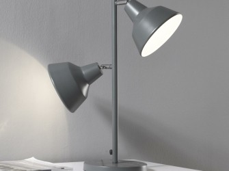 [Webshop] Tafellamp Theresia, 2 Lamps met tapse kappen, kle…