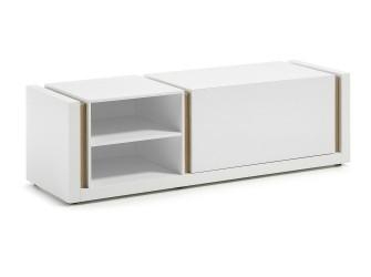 [Webshop] LaForma Tv-meubel QU, Wit met klep