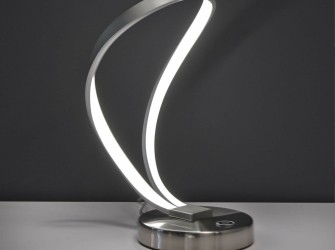 [Webshop] Tafellamp Lori, krul LED - Gratis bezorging!