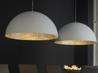 [Webshop] Dubbele Hanglamp Kindra, kleur wit
