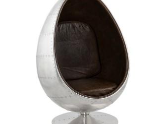 [Webshop] Kokoon Design fauteuil Uovo Alu