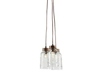 [Webshop] LaForma Hanglamp Nolan Glass Clear C07