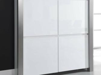 [Webshop] Opbergkast Pok, kleur hoogglans wit
