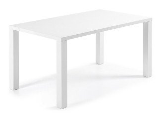[Webshop] LaForma Eettafel Alix hoogglans wit, 160 x 90 cm