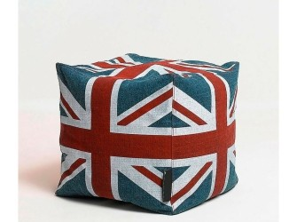 [Webshop] LaForma Poef Siros met Britse vlag