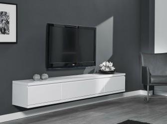 [Webshop] Hangend TV-meubel Armandina, kleur wit
