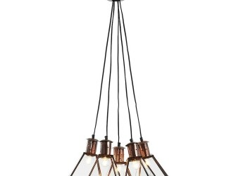 [Webshop] LaForma hanglamp DASH, kleur koper