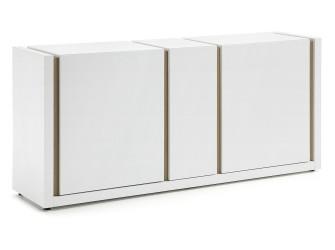 [Webshop] LaForma Dressoir QU, Wit met 3 deuren