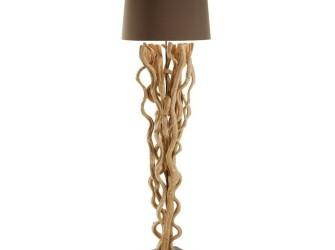 [Webshop] LaForma Vloerlamp ABUN kleur bruin