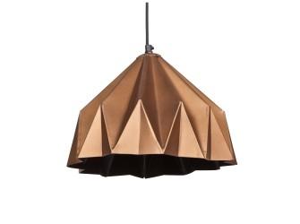 [Webshop] Be Pure Hanglamp Crease Small, kleur koper