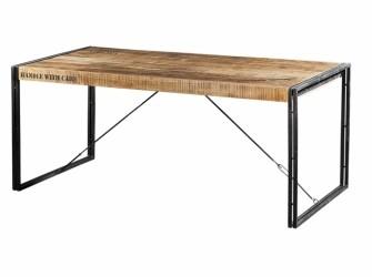[Webshop] Eettafel Iron Industrieel in 4 maten