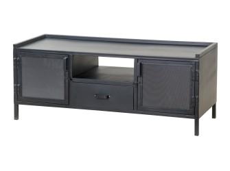 [Webshop] Tv-meubel Eleonora Industrieel met 2 deuren en 1…