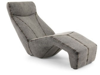 [Webshop] LaForma Loungestoel Acanto, grijs jeans