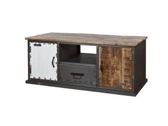 [Webshop] TV-meubel Eleonora Vintage met 2 deuren en 1 lade