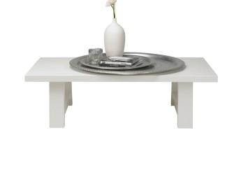 [Webshop] Woood salontafel Soll, kleur wit