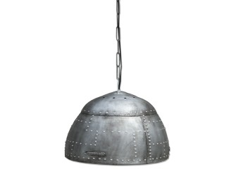 [Webshop] By-Boo hanglamp Rivet silver 72 cm