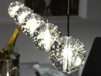[Webshop] Hanglamp Arie met 5 glazen bollen