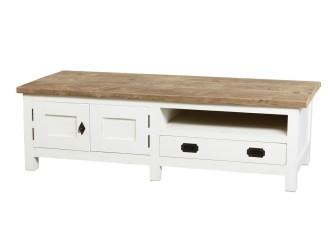 [Webshop] Tv-meubel Oriental Teak met 2 deuren en 1 lade