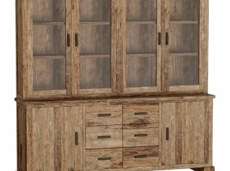[Webshop] Vitrinekast Lorenzo met 6 deuren en 6 laden
