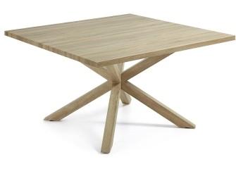 [Webshop] LaForma Eettafel Arya hout vierkant, 149 x 149cm