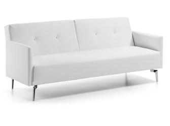 [Webshop] LaForma Slaapbank Rolf PU, kleur wit