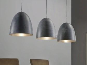 [Webshop] Hanglamp Florence, 3-lamps industrieel, kleur gri…