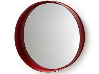 [Webshop] LaForma Spiegel ASSIDO, kleur rood