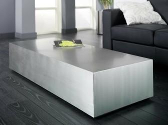 [Webshop] Salontafel Theola RVS, 140 x 60cm