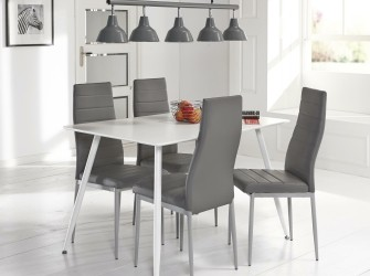 [Webshop] Eettafel Carmon 120 x 80cm in 2 kleuren