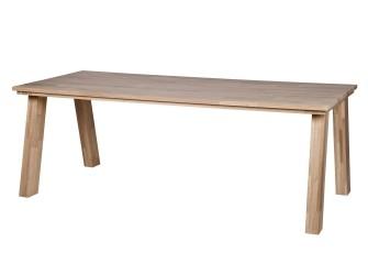 [Webshop] Be Pure Eettafel Almond Eiken, 220 x 95 cm in 2 k…