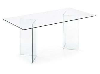 [Webshop] LaForma Glazen Eettafel Burano, 180 x 90 cm