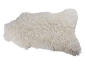 [Webshop] Woood Schapenvacht, kleur wit 110 x 60cm
