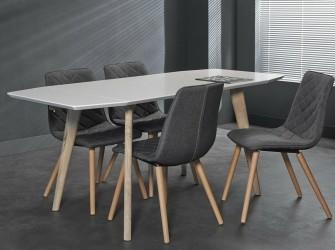 [Webshop] Uitklapbare Eettafel Kim 120 tot 180cm