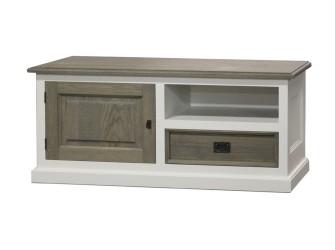 [Webshop] Tv-meubel Dublin Wit met 1 deur en 1 lade (laatst…