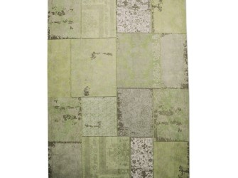 [Webshop] By-Boo Vloerkleed Patchwork green