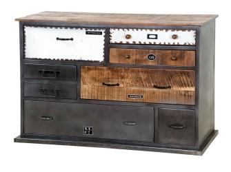 [Webshop] Ladenkast Eleonora Vintage met 8 laden