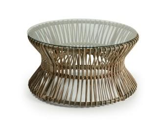 [Webshop] LaForma Salontafel Papua met glazen blad