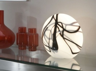[Webshop] Tafellamp Ok 1 Lamps, streepmotief rond