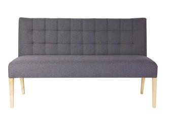Woood Eetkamerbank Tijmen 156 cm, kleur cool grey