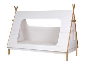 [Webshop] Woood Bed Tipi 90 x 200cm, Incl. Lattenbodem