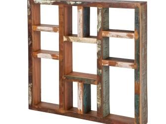 [Webshop] Woood Letterbak, gerecycled hout