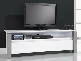 [Webshop] TV-meubel Pok 160cm, kleur hoogglans wit