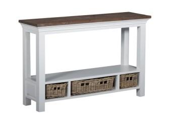 [Webshop] Side-table Napoli met 3 laden - Gratis bezorging!