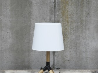 [Webshop] By-Boo Tafellamp wood/white - Gratis bezorging!