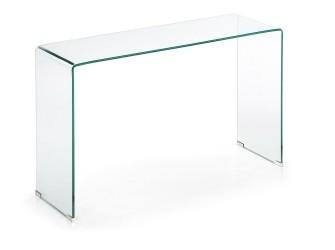 [Webshop] LaForma Glazen Side-table Burano, 125 x 40 cm