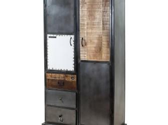 [Webshop] Kabinet Eleonora Vintage met 2 deuren en 3 laden