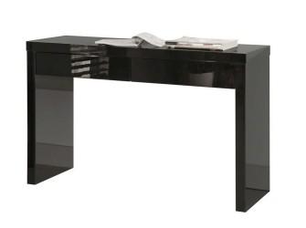 [Webshop] Side-table Wan, kleur hooglans zwart