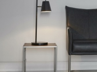 [Webshop] Tafellamp Bailey, kleur zwart - Gratis bezorging!